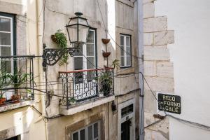 Galé Primeiro, Apartmány  Lisabon - big - 12