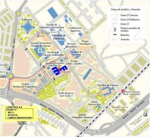 Residencia Universitaria Giner de Los Ríos, Хостелы  Алькала-де-Энарес - big - 34