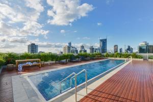 UrbanMinder @ The William, Ferienwohnungen  Melbourne - big - 8