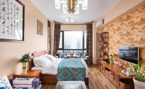 Chengdu Bojin Boutique Apartment, Appartamenti  Chengdu - big - 47