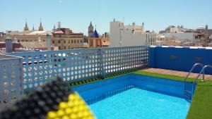 Carreteria con piscina