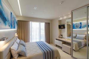 Marinos Beach Hotel-Apartments, Residence  Platanes - big - 26