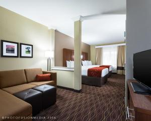 Comfort Suites Dubois, Отели  DuBois - big - 4