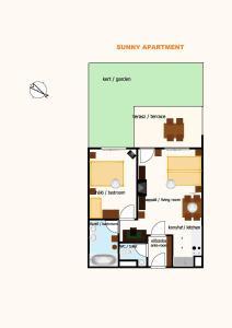 Sunny Apartman, Apartmány  Siófok - big - 21