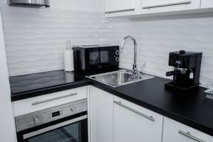 Luxury Studio Apartment White Sensation, Apartmanok  Vodice - big - 21