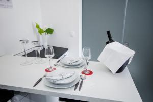 Luxury Studio Apartment White Sensation, Apartmanok  Vodice - big - 35