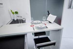 Luxury Studio Apartment White Sensation, Apartmanok  Vodice - big - 36