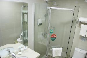 Price GreenTree Inn Zhejiang Zhoushan Xincheng Business Hotel