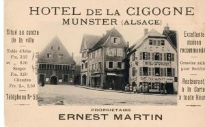 Hôtel Restaurant La Cigogne, Hotel  Munster - big - 49