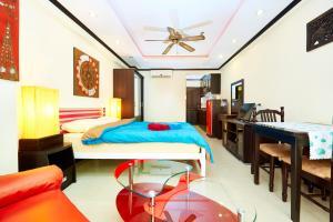 Jomtien Beach Condo by Pattaya Reality, Apartmány  Jomtien - big - 14