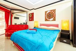 Jomtien Beach Condo by Pattaya Reality, Apartmány  Jomtien - big - 7