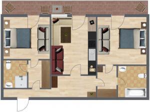 Haus Benedikt, Apartmány  Heiligenblut - big - 27