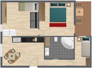 Haus Benedikt, Apartmány  Heiligenblut - big - 22