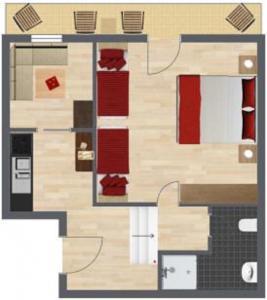 Haus Benedikt, Apartmány  Heiligenblut - big - 17