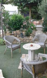 Chambres d`hôtes Shabby, Bed & Breakfasts  Salles-d'Aude - big - 19