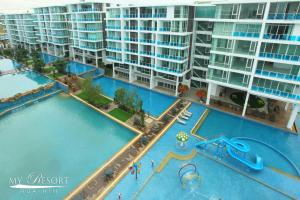 My Resort - HuaHin Unit E304, Апартаменты  Хуахин - big - 3