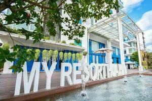 My Resort - HuaHin Unit E304, Апартаменты  Хуахин - big - 1