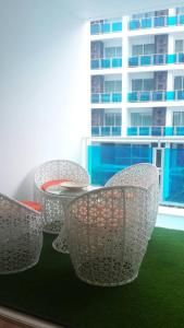 My Resort - HuaHin Unit E304, Апартаменты  Хуахин - big - 6