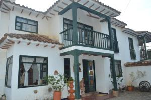 Casa colonial vacacional El refugio delos Virreyes, Holiday homes  Villa de Leyva - big - 19