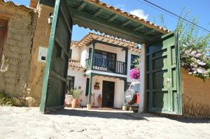 Casa colonial vacacional El refugio delos Virreyes, Holiday homes  Villa de Leyva - big - 17