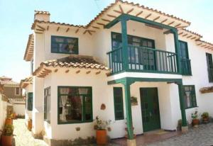 Casa colonial vacacional El refugio delos Virreyes, Holiday homes  Villa de Leyva - big - 13