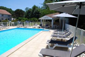 Hotel Le Relais des Champs, Hotely  Eugénie-les-Bains - big - 5