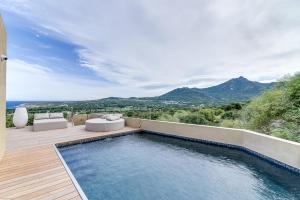 Designer villa sea and mountain