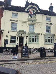 Eingang George and Dragon Ashbourne
