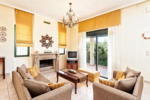 Villa Vallia - Villa Marina, Villen  Kato Galatas - big - 21