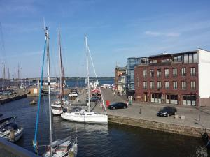 Ferienwohnungen auf der Hafeninsel Stralsund
