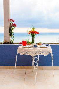 Blue Mediterranean apartments