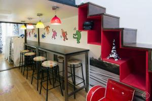 Colored Chatelet Apartment