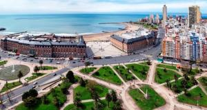 Vista Plaza Colón y Mar, Apartmány  Mar del Plata - big - 6