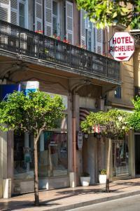 Hôtel Richelieu, Hotel  Mentone - big - 16