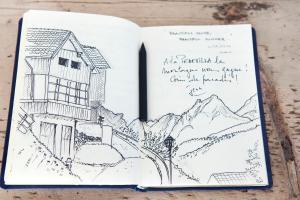 La Pedevilla, Alpesi faházak  San Vigilio Di Marebbe - big - 6