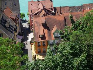 Pension Ins Fischernetz - Mäntele, Guest houses  Meersburg - big - 13