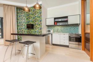 Inner city spacious one bedroom apartment, Apartmanok  Auckland - big - 6