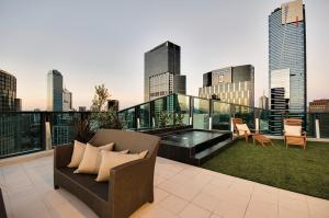 Southbank Skyhigh, Apartmanok  Melbourne - big - 63