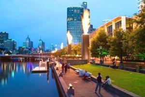 Southbank Skyhigh, Apartmanok  Melbourne - big - 14