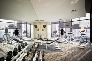 Southbank Skyhigh, Apartmanok  Melbourne - big - 3