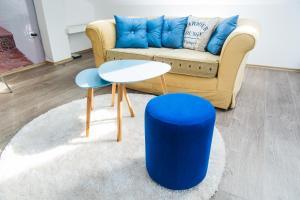 Studio Apartment Blue - фото 10