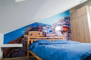 Studio Apartment Blue - фото 8