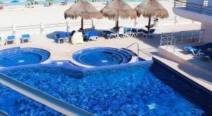 Penthouse Villa Marlin, Apartmány  Cancún - big - 64