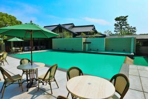 GAHAMA terrace, Rjokanok  Beppu - big - 40