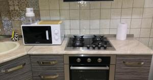 Brand New Apartment with Terrace, Apartments  Tbilisi City - big - 12