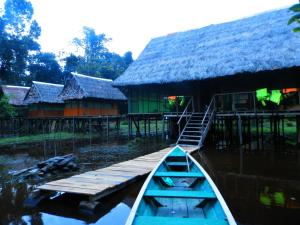 Amazon Eco Tours & Lodge, Хостелы  Santa Teresa - big - 48