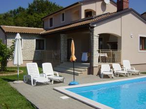 Villa Marjan, Vily  Tinjan - big - 9
