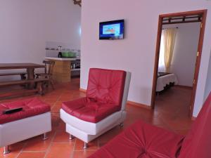 Apartahotel La Gran Familia, Residence  Villa de Leyva - big - 55