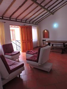 Apartahotel La Gran Familia, Residence  Villa de Leyva - big - 36