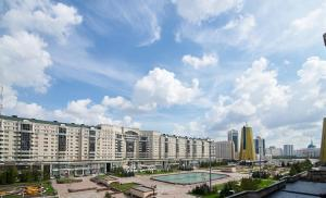 Apartment at Nursaya, Ferienwohnungen  Astana - big - 3